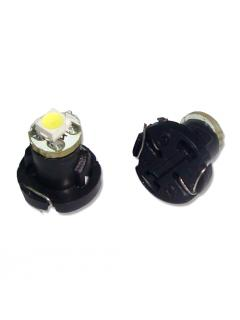 Mini LED T4,2 modrá, 1LED/1210SMD, 1ks