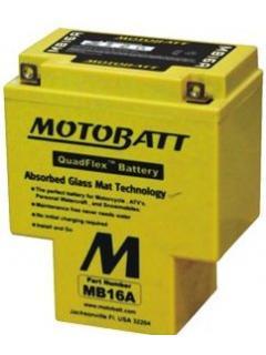 Akumulátor Motobatt 12V 17,5Ah MB16A 200A