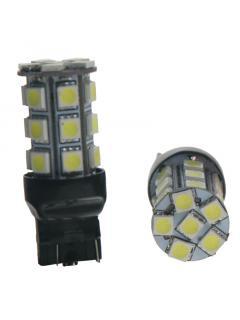 LED T20 (7443) bílá, 12V, 18LED/3SMD
