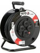 YATO Prodlužovák bubnový 4zásuvky IP44 16A  40 m, YT-81054