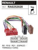ISO adaptér RENAULT