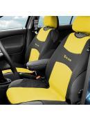 Potah sedadla TRIKO přední žlutý