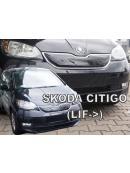 Zimní clona přední masky Škoda Citygo 2017-horní po faceliftu