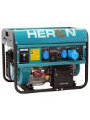 HERON elektrocentrála benzínová 15HP/7kW, elektrický start 8896121