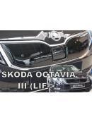 Zimní clona přední masky Škoda Octavia III 2016- horní po faceliftu
