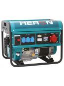 HERON elektrocentrála benzínová 13HP/6,0kW (400V) 2,2kW (230V) 8896112