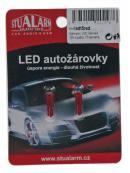 LED T5 červená, 12V, 1LED, 1ks