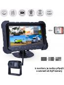 """SET bezdrátový digitální kamerový AHD systém, monitor 7"""" s možností nahrávání"""
