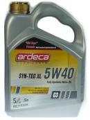 ARDECA  5W-40 SYN TEC XL 5L