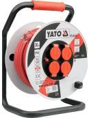 YATO Prodlužovák bubnový 40 m plast, YT-8107