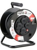 YATO Prodlužovák bubnový 4zásuvky IP44 16A  20 m, YT-81052