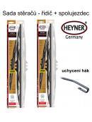 Stěrače sada HEYNER EXCLUSIVE 700 + 560mm