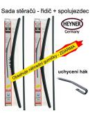Stěrače sada HEYNER ALL SEASON 580 + 580mm