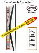 Stěrače sada HEYNER ALL SEASON 700 + adaptér SA30012
