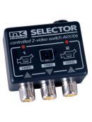 Přepínač dvou videosignálů formátu PAL, NTSC nebo SECAM 2IN/1OUT