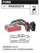 ISO adaptér FORD