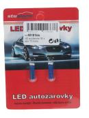 LED T5 modrá, 12V, 1LED/3SMD