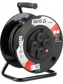 YATO Prodlužovák bubnový 4zásuvky IP44 16A  30 m, YT-81053