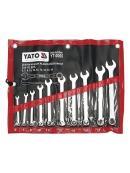 YATO Sada klíčů očkoplochých 10ks 6 - 19 mm CrV6140, YT-0060