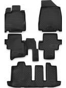 Gumové autokoberce Nissan Pathfinder 2012-, Novline