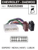 ISO adaptér DAEWOO - CHEVROLET