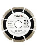 YATO Kotouč diamantový 115 x 22,2 x 2,1 mm, YT-6002